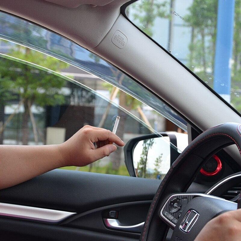 BBQ@FUKA Car styling Car Window Visor Rain Guard Deflector Weather ...