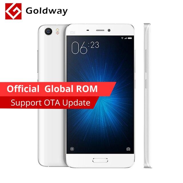 "Original Xiaomi Mi5 M5 Mi 5 Prime 64GB ROM Mobile Phone Snapdragon 820 5.15"" FHD 16MP Fingerprint ID NFC [Official Global ROM]"
