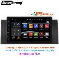 Silverstrong Новый ips ANDROID 9,0 автомобильный проигрыватель Android для BMW E53 X5 E39 M5 1DIN радио с двумя камерами, процессор Rockchip PX30 Процессор с RDS DAB вариант