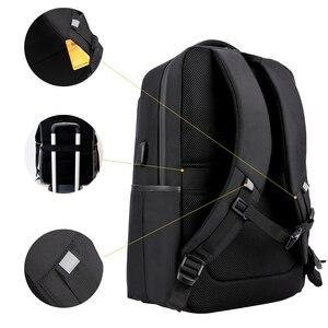 Image 2 - של גברים 15.6 Inch מחשב נייד המוצ ילה עבור feminina טעינת USB חיצוני מטען עמיד למים בית ספר חבילה חזרה מוצ ילאס