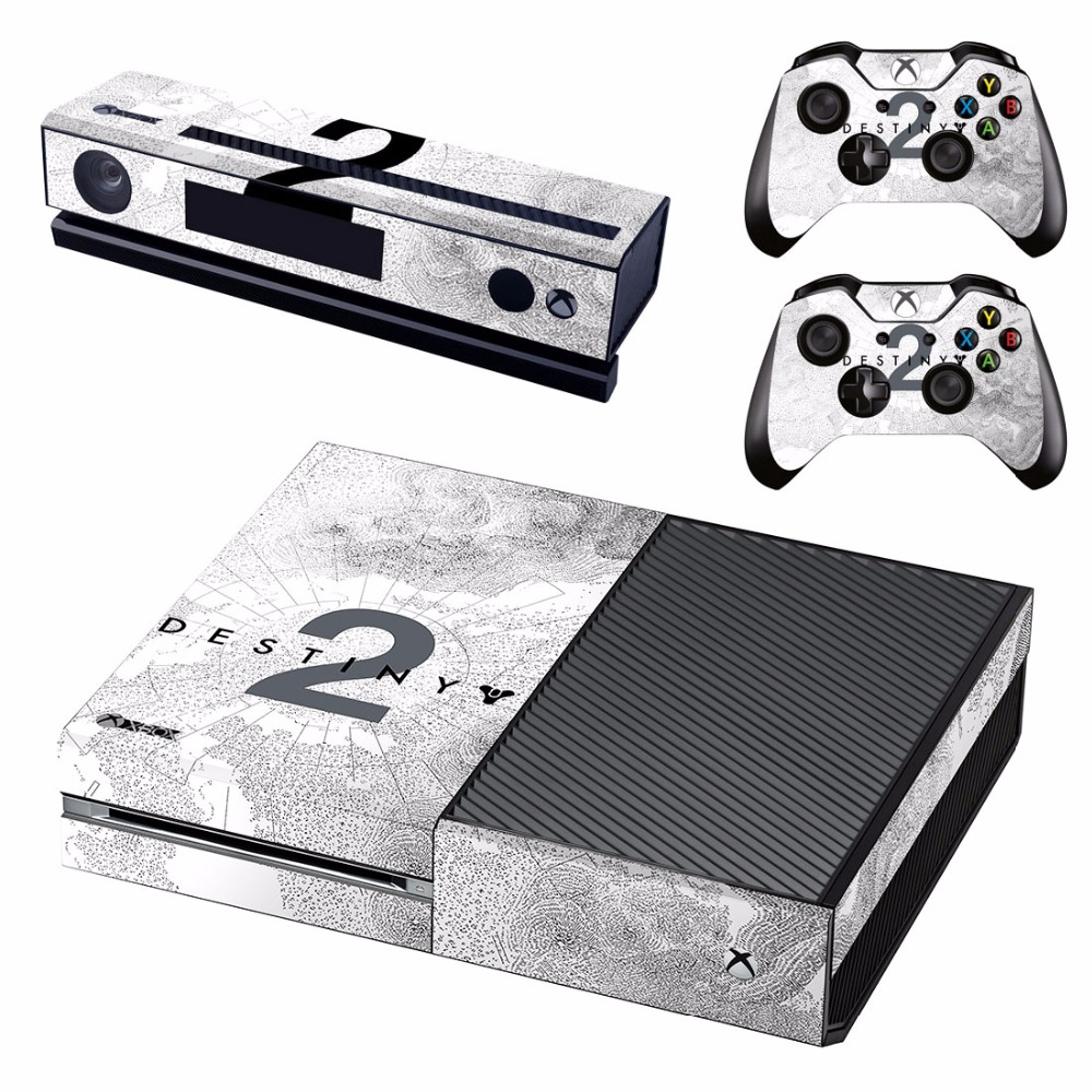 US $7 99 |Vinyl Skin Decal Cover for Microsoft Xbox One Console & Kinect &  2 controller skins DESTINY 2-in Stickers from Consumer Electronics on