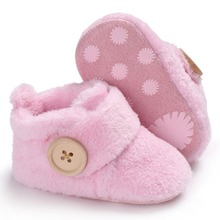 Baby First Walker Ankle Snow Boots Infant Toddler Newborn Shoes
