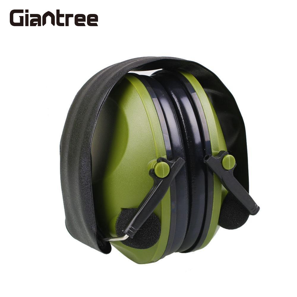 giantree Anti-Noise Earmuffs  Ear Protector Impact Electronic Earmuff 21SNR Fold Ear Hearing  Outdoor Hunting Shooting Ear Muffs new brand 8 colors optional brake lever black folding
