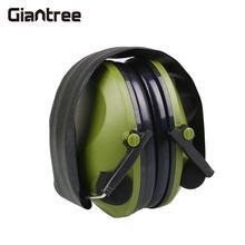 giantree Anti-Noise Earmuffs Ear Protector Impact Electronic Earmuff 21SNR Fold Ear Hearing Outdoor Hunting Shooting Ear Muffs