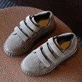 2017 Новый Дизайн Бренда 3 Ремни Дети Мальчики Повседневная Shoes Hook & Loop детская Leisure Shoes Мужская Мода Кроссовки School Shoes