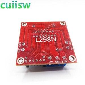 Image 4 - 10 cái/lốc New Kép H Cầu DC Stepper Motor Drive Điều Khiển Board Đun L298N đối với arduino