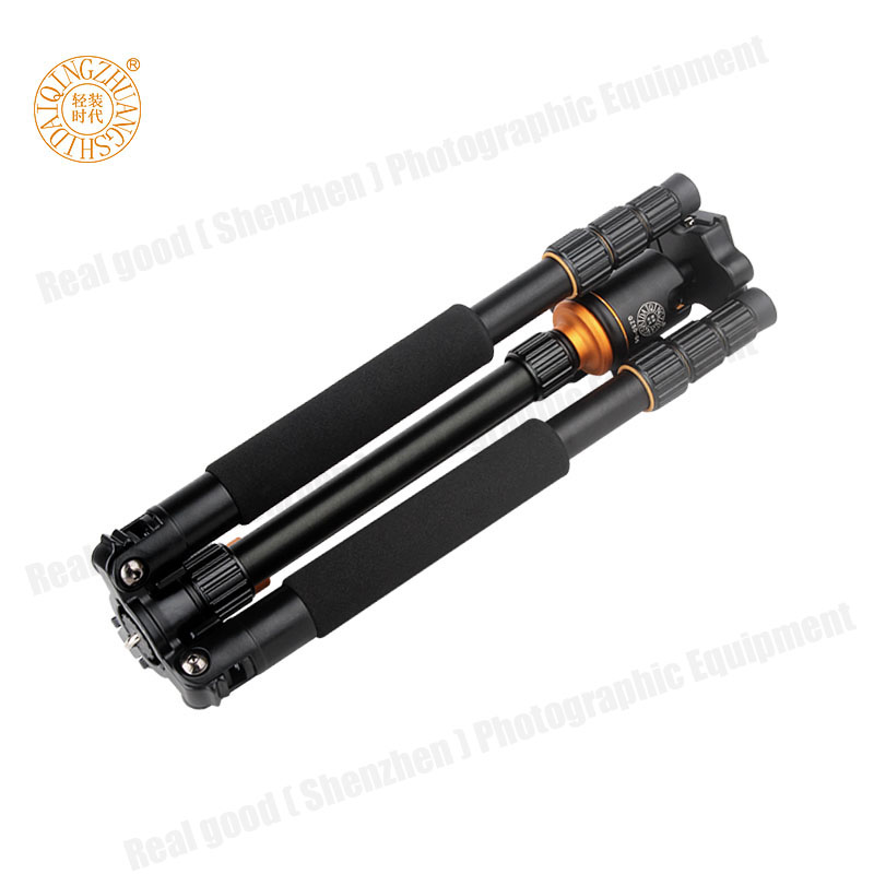 QZSD Q999S Professional Fotoqrafiya Portativ Alüminium Top Baş + - Kamera və foto - Fotoqrafiya 5