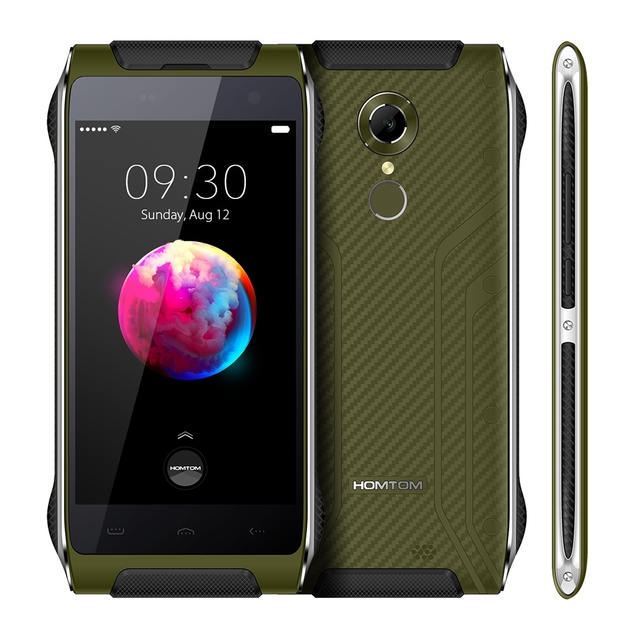 HOMTOM HT20 Pro 4G 4.7 inch Android 6.0 Cellphone MTK6753 Octa Core 1.3GHz 3GB RAM 32GB ROM Fingerprint 13.0MP Camera Smartphone