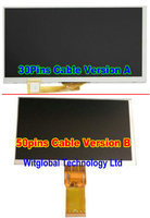 New LCD Display Matrix For 7 Explay Hit 3G 30Pins Inner TFT LCD Screen Panel Lens