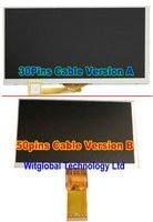 New LCD Display Matrix For 7 Explay Hit 3G 30Pins Inner TFT LCD Screen Panel Lens