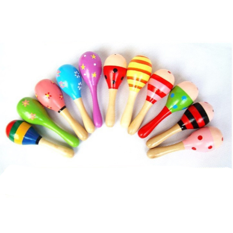5 stks Baby Speelgoed Muziekinstrumenten Houtrammelaars Speelgoed - Speelgoed voor kinderen - Foto 5