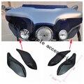 Боковины Лобового Воздушные Дефлекторы Для Touring FLHR FLHT FLHX 1996 1997 1998 1999 2000 2001 02-2013 Черный Воздуха дефлекторы