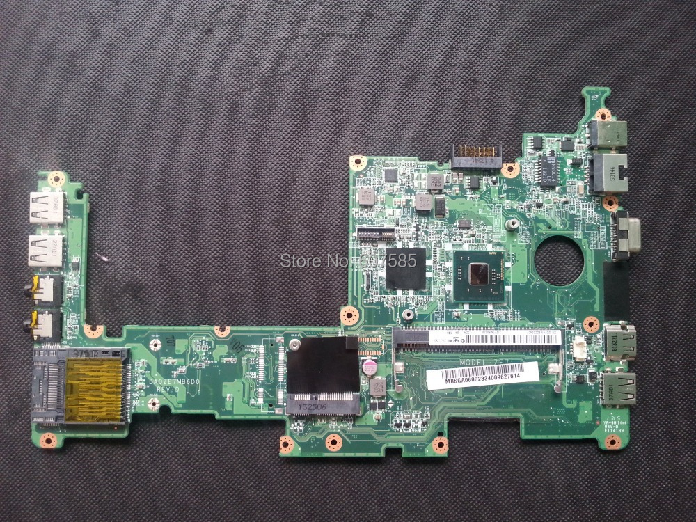 MBSGA06002 motherboard For ACER D270 Laptop DA0ZE7MB6D0 REV:D Fully Tested Free shipping
