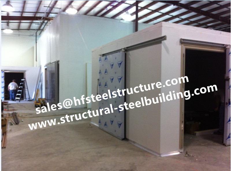 Chinese Fish Cold Storage Design/ Walk In Cold Room For Seafood With High Quality And Supermarket Cold Storage