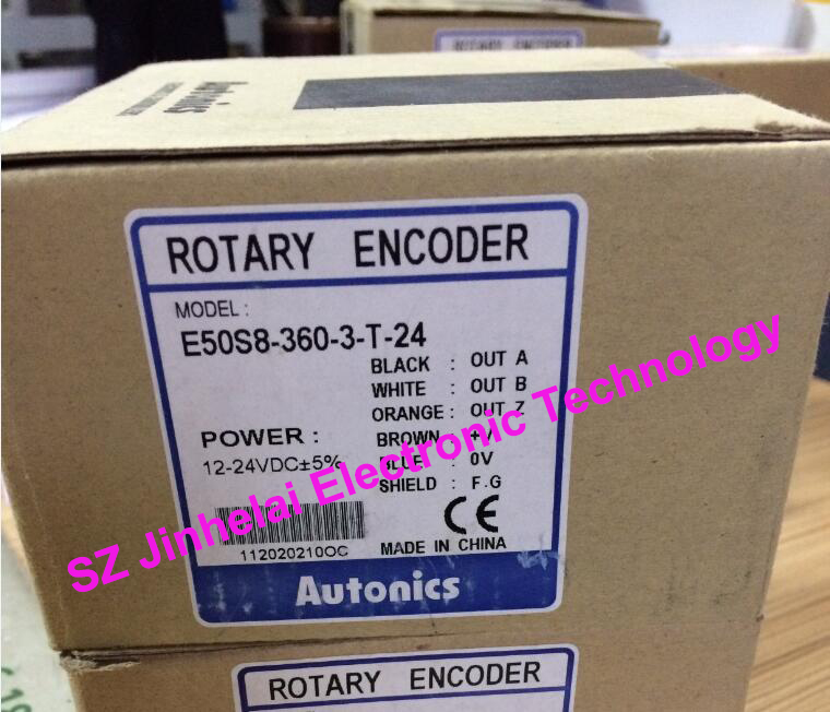 E50S8-60-3-N-24,  E50S8-360-3-T-24  New and original  AUTONICS  ENCODER  12-24VDC 100% new and original e50s8 360 3 n 24 autonics encoder