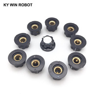 potentiometer knob 1pcs Hat MF-A01 MF-A02 MF-A03 MF-A04 MF-A05 potentiometer knob WH118/WX050 bakelite knob copper core inner hole 6mm (5)