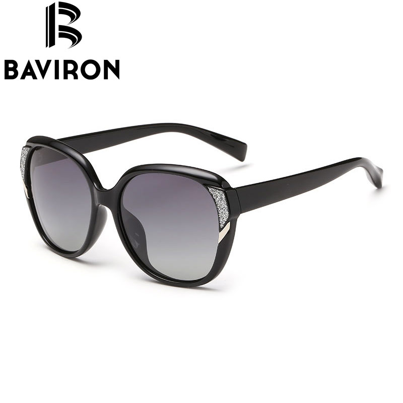 c26940b6d50 BAVIRON Brand HD Polarized Sunglasses Women Luxury New Fashion Sun Glasses  Polaroid Lens Women Glasses Designer Hot Sale 2511-in Sunglasses from  Women s ...