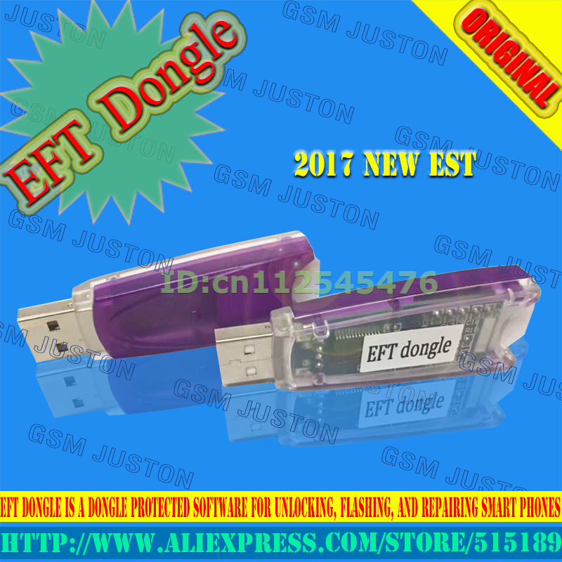 free shipping EFT Dongle Easy Firmware Team Dongle for protected software  for unlocking, flashing, and repairing smart phones -in Fiber Optic