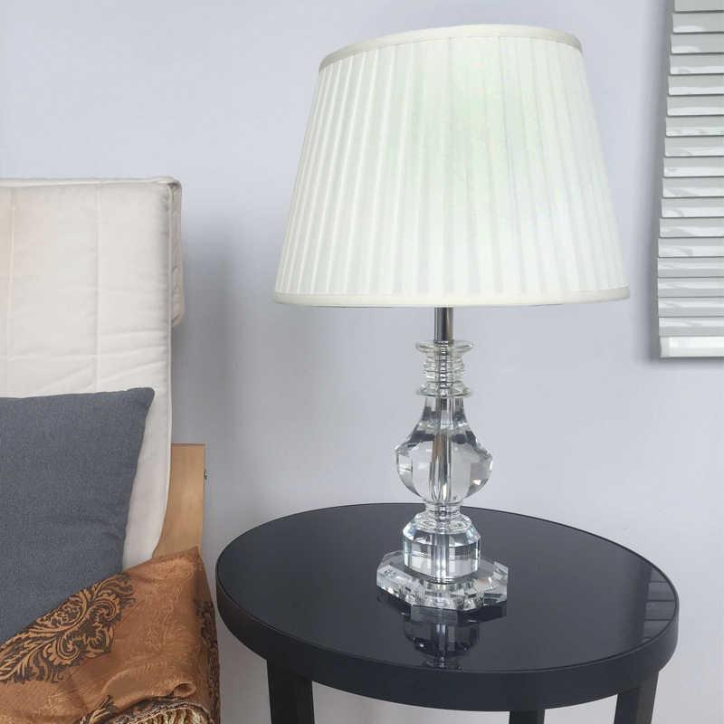 DX Роскошная настольная лампа прикроватные лампы для гостиной, декоративный Ночной светильник, светильник для спальни, декоративные настольные лампы для спальни