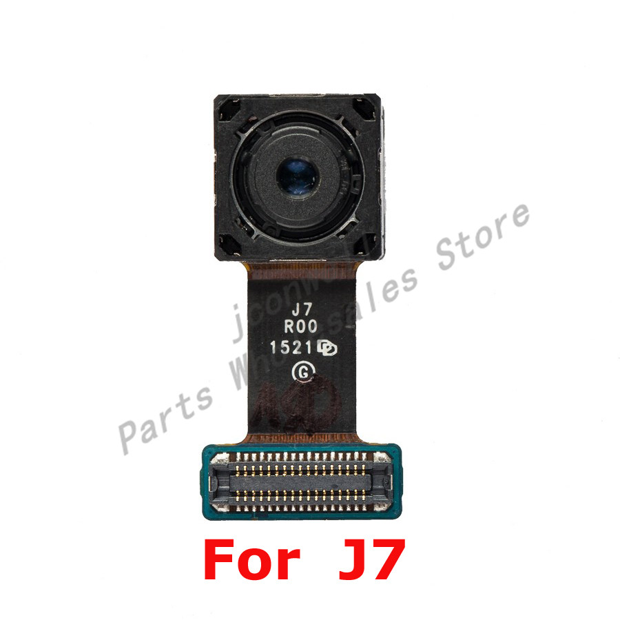 For Sam Galaxy J7 J700F J7008 Back Camera Real Camera Cover Glass Lens Sam J7 Repair Replacement Part