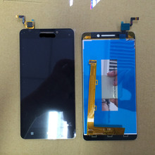 For Lenovo A5000 LCD Display+Touch Screen Panel Digital replacement Parts For A5000 5.0″ Smartphone Free shipping+Track Number