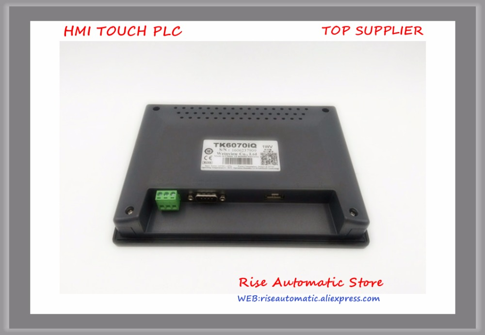 7 inch Operate Panel Touch Screen Touch Panel HMI TK6070IQ Full Replace Of TK6070iP TK6070iH TK6070iK pws5610s s 5 7 inch hitech hmi touch screen panel pws5610s s human machine interface new in box fast shipping