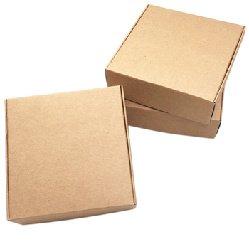 100Pcs Kraft Paper Box Nice Kraft Box Packaging Box Small Size