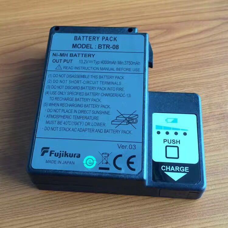 10PCS/Lot Original <font><b>Fujikura</b></font> FSM-60S FSM-60R FSM-18S FSM-18R Optical Fiber Fusion Splicer <font><b>Battery</b></font> BTR-08