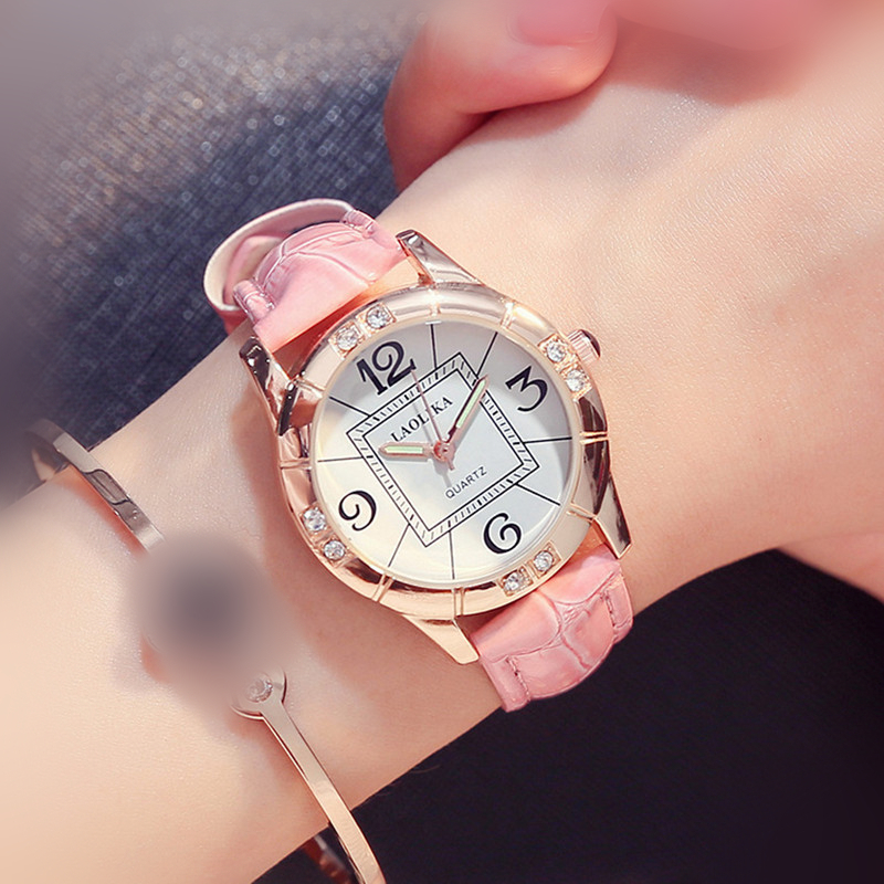 zeling Fashion women student simple casual watch  dropshipping new 2018 hot selling Chronograph & Casual Hardlex