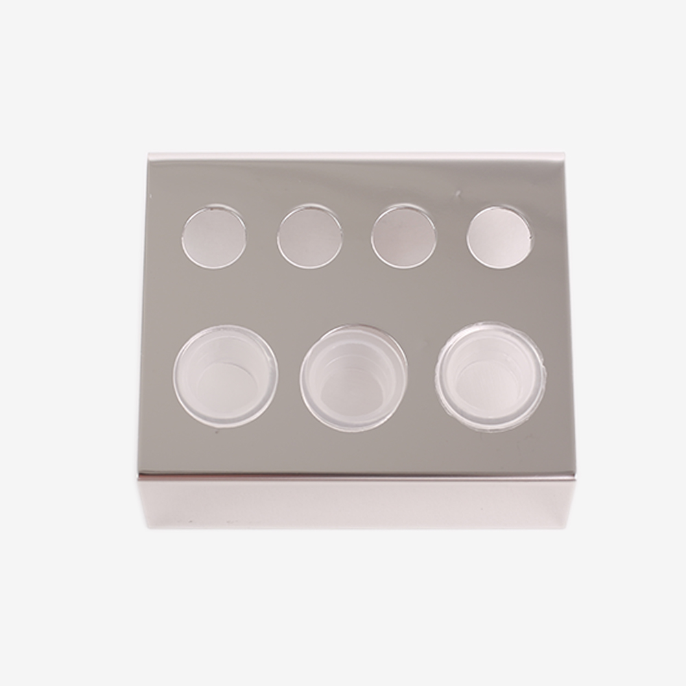 Image 3 - 6/7/8 Holes Pigment Container Stand Tattoo Accessories Supplies Stainless Steel tattoo permanent makeup Ink Cup Holder IBCH024-in Tattoo accesories from Beauty & Health