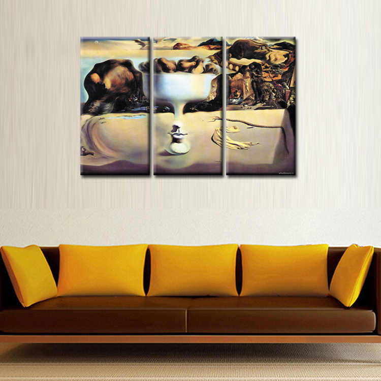 3 Pieces/set Abstract poster series Canvas Painting living room Room Decoration Print Canvas Pictures Framed/Abstract (73)