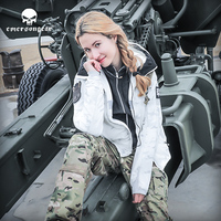 Нерегулярный Тактический теплая куртка для женщин мужские с капюшоном Охота Тактический пальто серии S повседневное Пара Открытый MC охотни