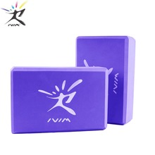 1Pc Yoga Block Exercise Workout Fitness Sports Yoga Pilates Massage Blocks for Yoga Fitness Training Crossfit Bodybuilding Gym foot rocker calf ankle plantar muscle stretch board for achilles tendinitis sports yoga massage fitness pedal stretcher hot sale
