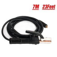 Welding Electrode Holder 23feet 300 Amp and Cable 10-25mm Connector for ARC MMA Inverter Welder welding accessories
