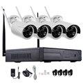 720 P 960 P 1080 P NVR de $ NUMBER CANALES Sistema de CCTV Wireless WiFi Cámara IP IR-CUT Bala CCTV Sistema de Seguridad Para El Hogar Kits de vigilancia