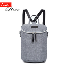 ATWO mini thermal insulation backpack insulated bag Fashion Ice pack ladies mochila portable