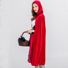 Sens-fun Halloween Hood Costume for Adult Women