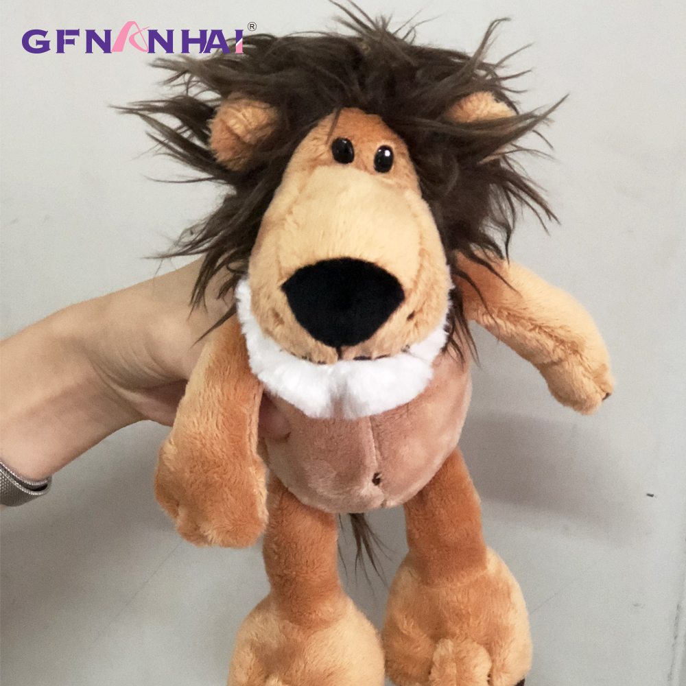 Image 5 - 5pcs/lot 25cm kawaii Forest Animal  Series Plush toy Cute Giraffe Elephant Lion Monkey Zebra Dolls Stuffed Soft toys for KidsStuffed & Plush Animals   -
