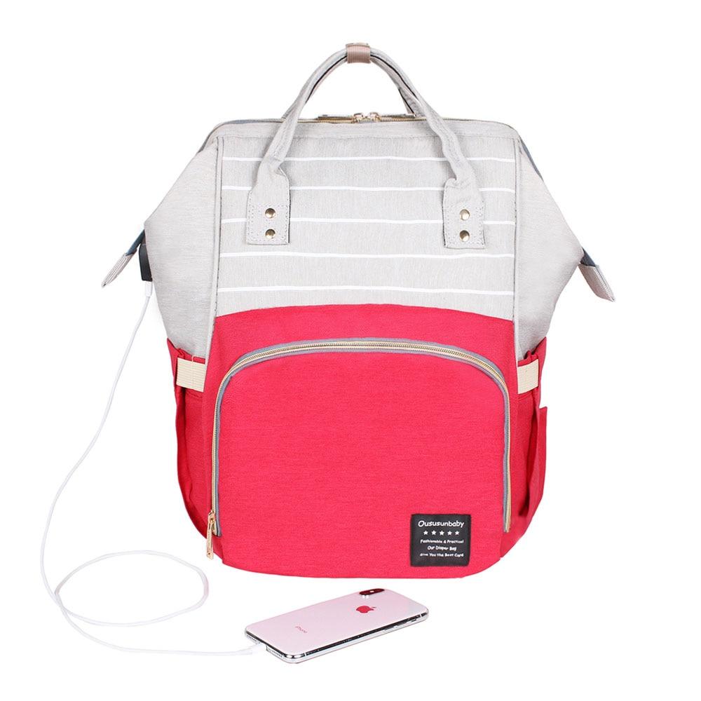 USB Red Gray
