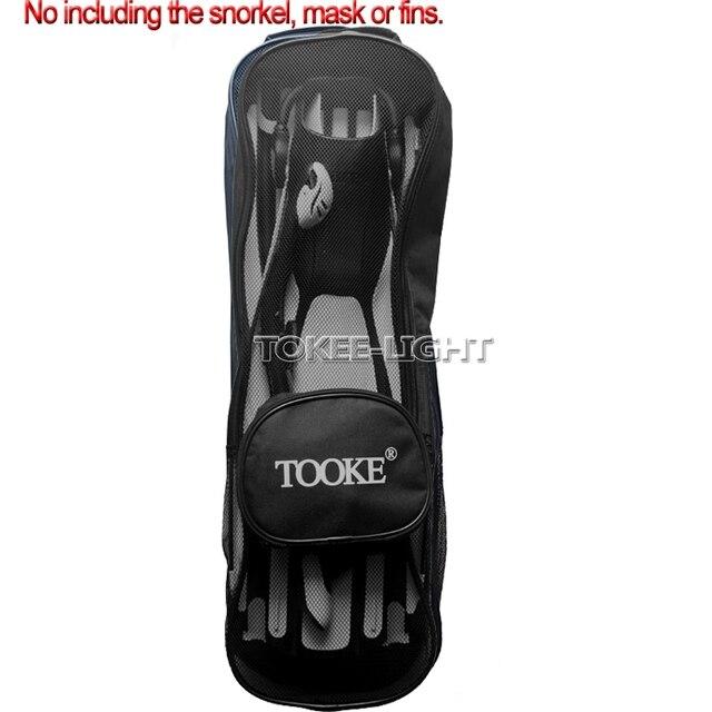 f47bfb0332559 TOOKE de Plongée Avec Tuba Plongée sac en mailles pour masque de plongée  tuba plongée palmes