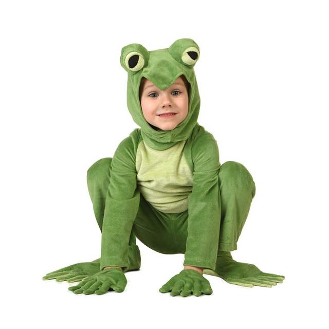 Fleece Big Eyed Frog Costume