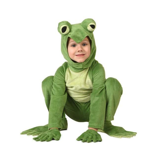 Fleece Big Eyed Frog Costume