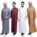 Бесплатный Мусульманин доставка Исламская Одежда для мужчин Аравия Исламская абая мужская Кафтан Джуба ислам Одежда мужчин тобе