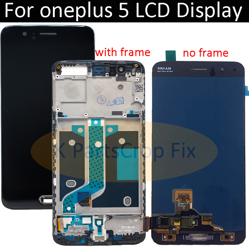 5 5 100 Tested Oneplus 5 LCD Display Screen Touch Panel Complete Assembly Oneplus 5 A5000