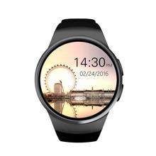 Neueste smart uhr Bluetooth vollbild Armband Smartwatch Telefon Unterstützung SIM TF Karte Herzfrequenzmessung für apple android