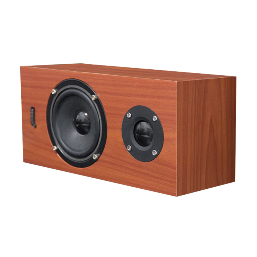 Q1 Mini Wooden Bluetooth Speaker Portable Wireless Speaker Subwoofer Bass Powerful Sound Box Music Magic Cube For Smartphone Portable Speakers Consumer Electronics
