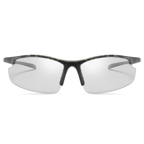 new Photochromic Chameleon Sunglasses Men Driving Polarized Sun glasses for men Half frame sunglasses Sport fashion Sunglasses Karachi