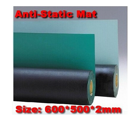 Anti-Static Mat, Antistatic Blanket ,ESD Mat For Repair Work size:600*500*2mm carbon fiber antistatic brush remove static electricity 1460x1400mm