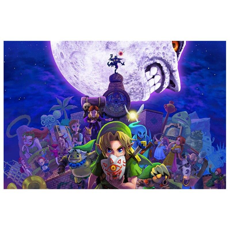 diamond painting Cartoon The Legend Of Zelda Breath Wild Wall Art Picture Print Painting landschap Home Decor