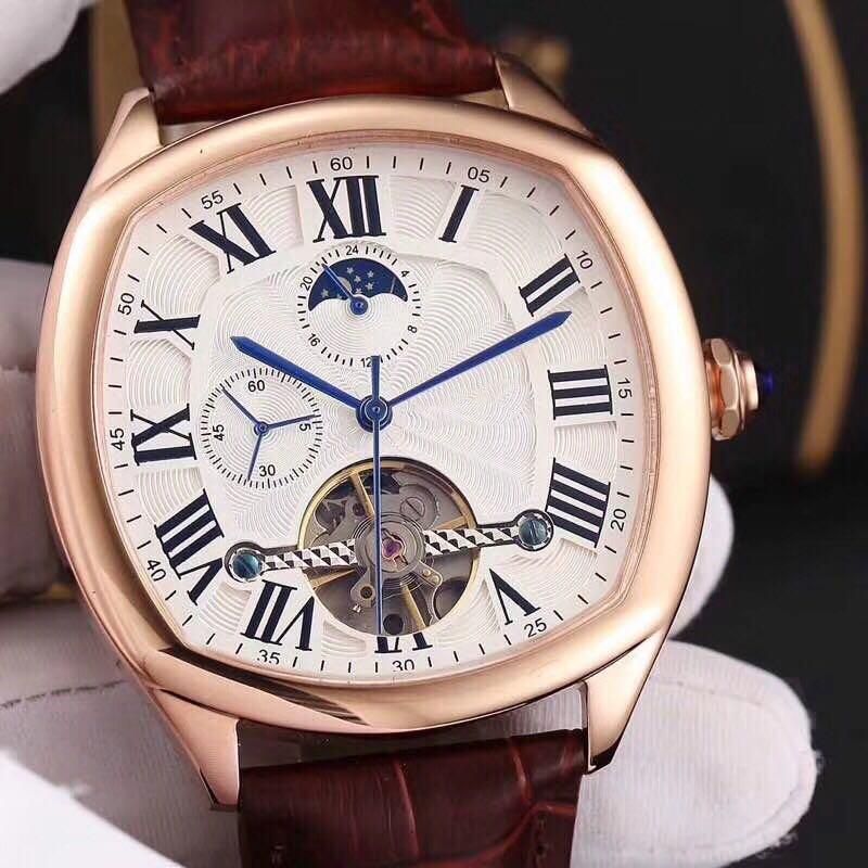 WC0721 Mens Watches Top Brand Runway Luxury European Design Automatic Mechanical Watch цена и фото